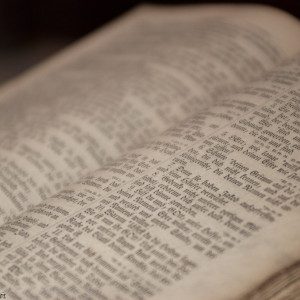 Making Goals for 2017: Reading Scripture
