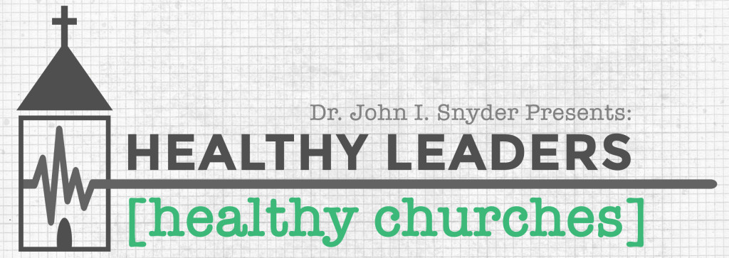 Healthy Leaders, Healthy Churches