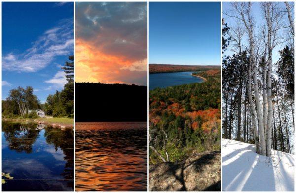 Life Seasons: Cool Crisp Clarity and Rainy Uncertainty