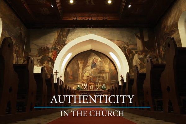 Authenticity in the Church: Relearning its Place for Sinners