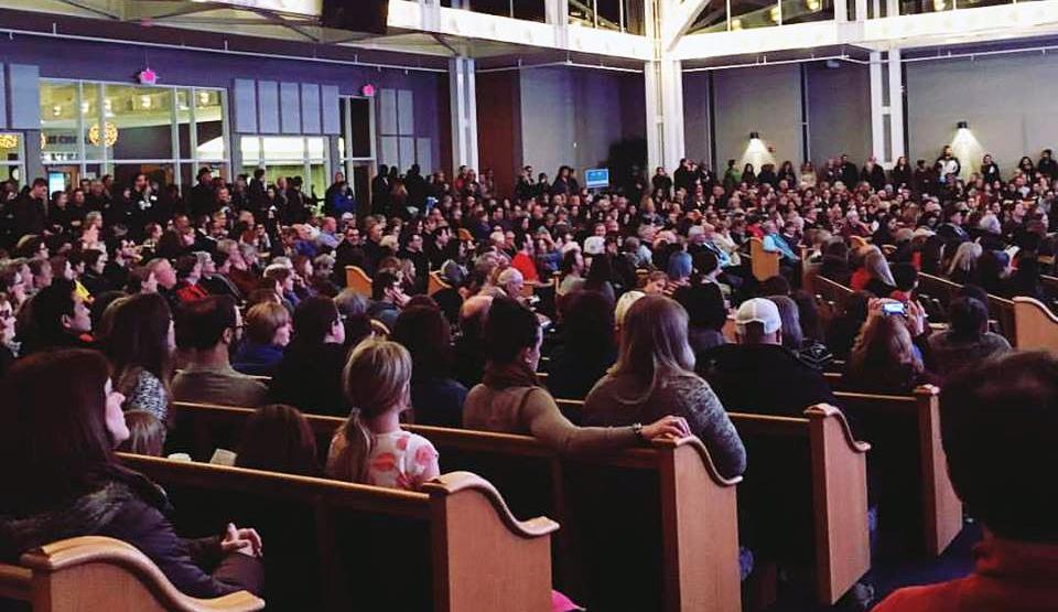 "Pastor Jill Richardson: ""We Stood for Refugees. Literally."""
